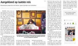 Artikel over Brokaat in De Telegraaf